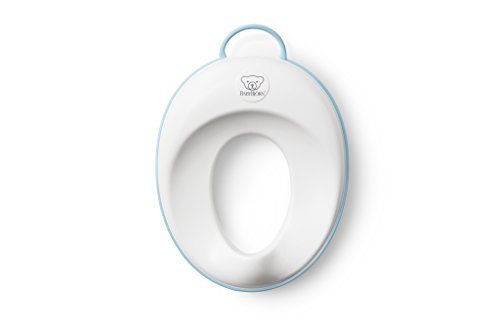 BABYBJORN Toilet Trainer, White/Turquoise