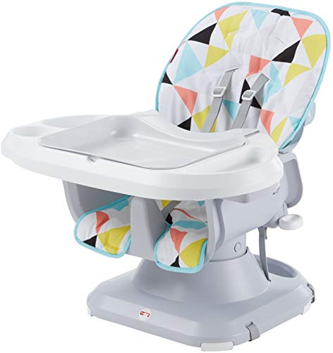 Fisher-Price SpaceSaver High Chair, Multicolor