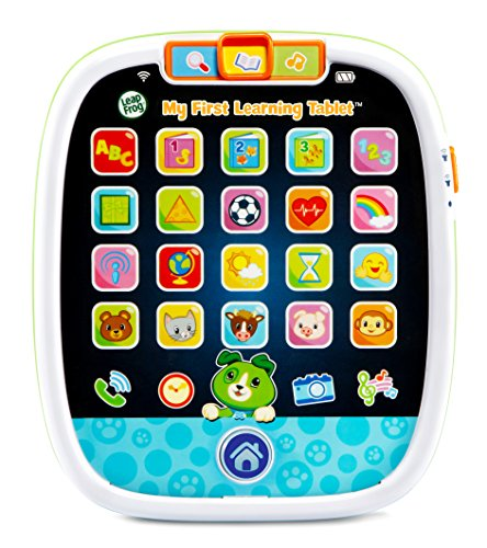 LeapFrog My First Learning Tablet, White and green, Scout